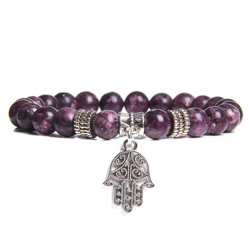 Bracelet bouddhiste perles de jade
