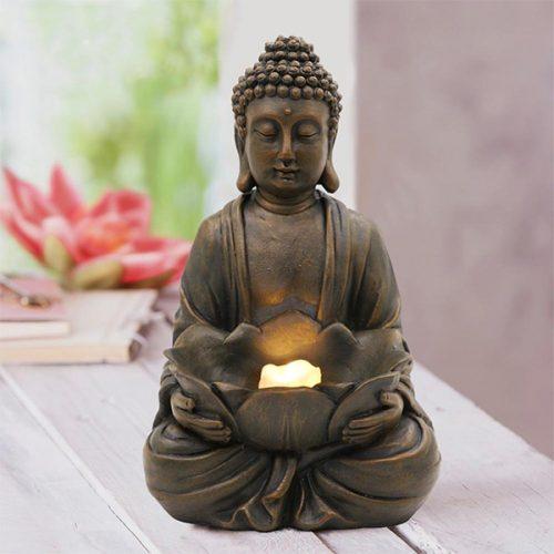 Statue bouddha assis