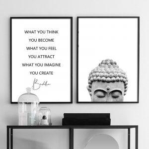 Tableau Bouddha zen pour chambre