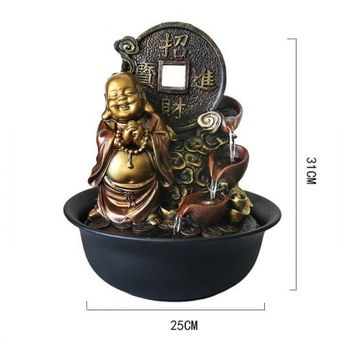 Fontaine Bouddha richesse
