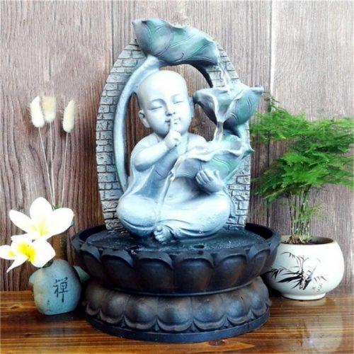 Fontaine à eau Bouddha