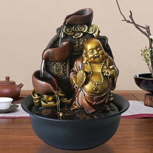 Fontaine Bouddha chinois