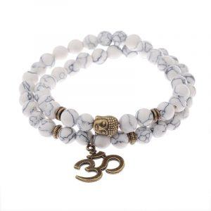 Bracelet Bouddhiste blanc