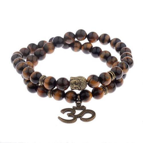 Bracelet pierre naturelle Bouddha