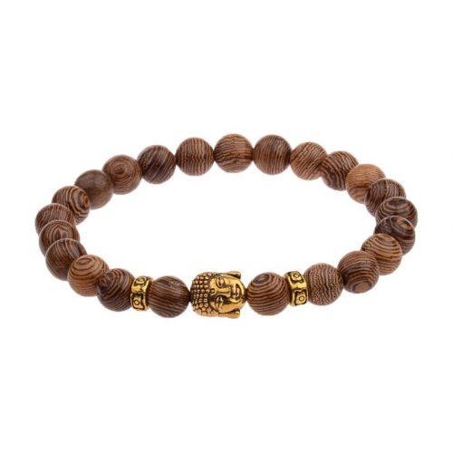 Bracelet bois Bouddha
