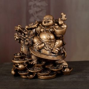 Statue bouddha rieur