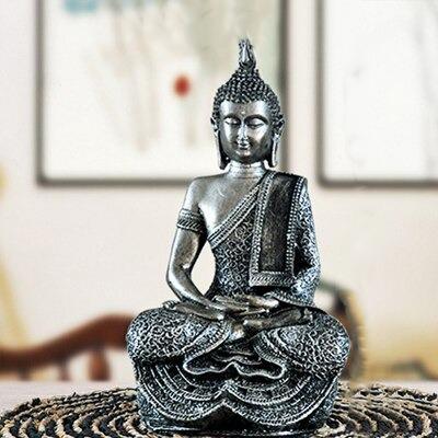 Statue Bouddha gris