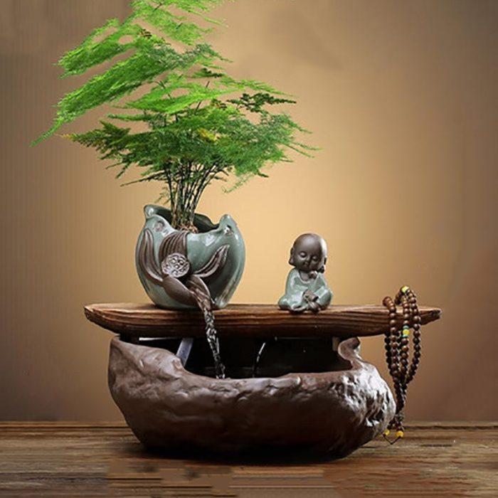 Fontaine bébé Bouddha