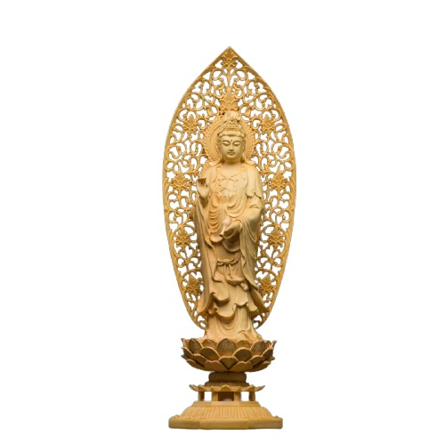 Statue Bouddha debout