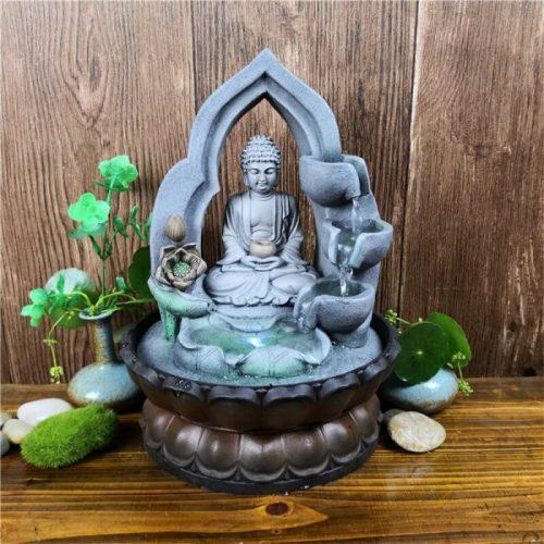 Fontaine Bouddha intérieur