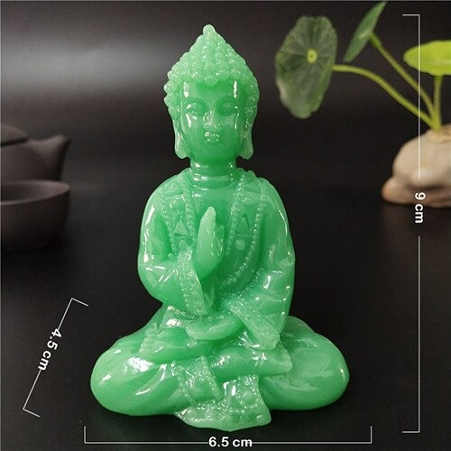 Statue Bouddha phosphorescente