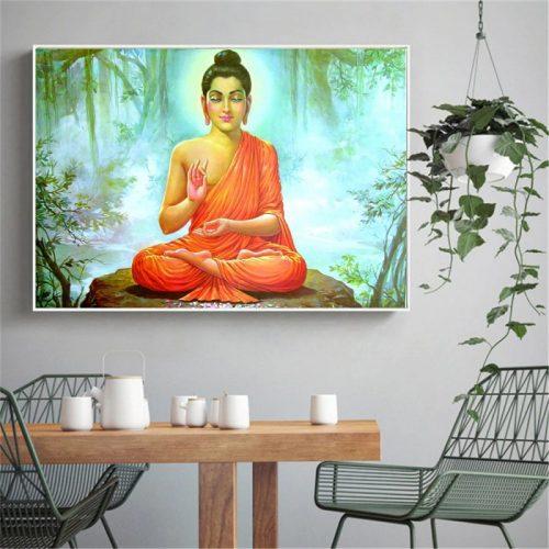 Toile Bouddha nature