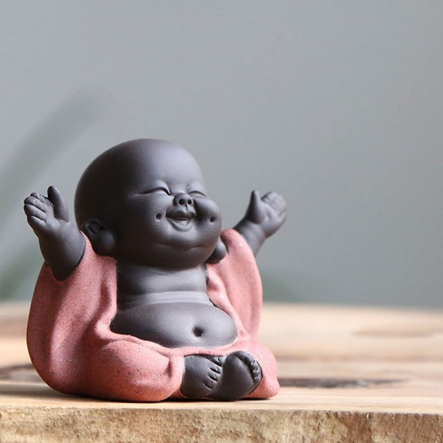 Statue Bouddha qui rit