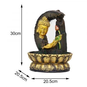 Fontaine tête de Bouddha