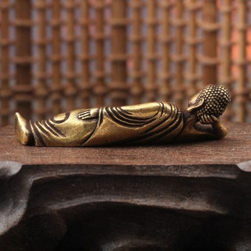 Statue Bouddha couché