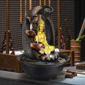 Fontaine Bouddha zen
