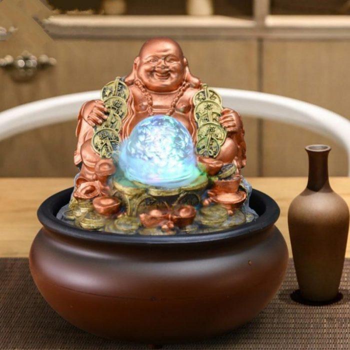 Petite fontaine Bouddha