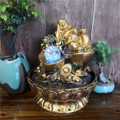 Fontaine Bouddha rieur