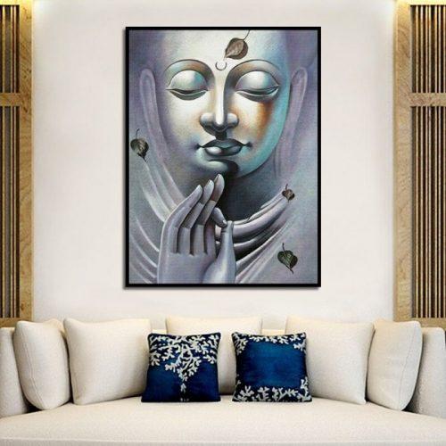 Tableau Bouddha féminin
