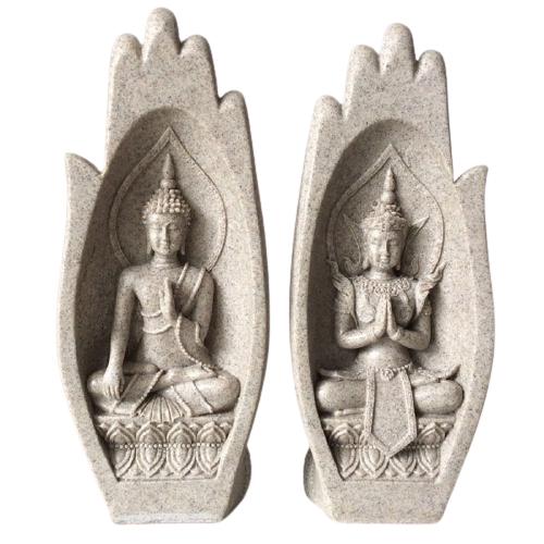 Statue divinité bouddhiste