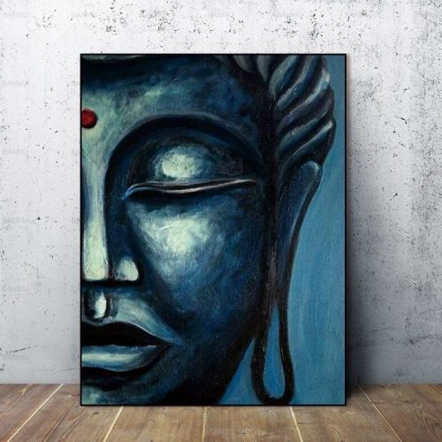 Tableau portrait Bouddha