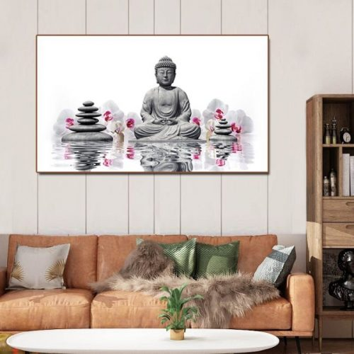 Tableau bouddhiste