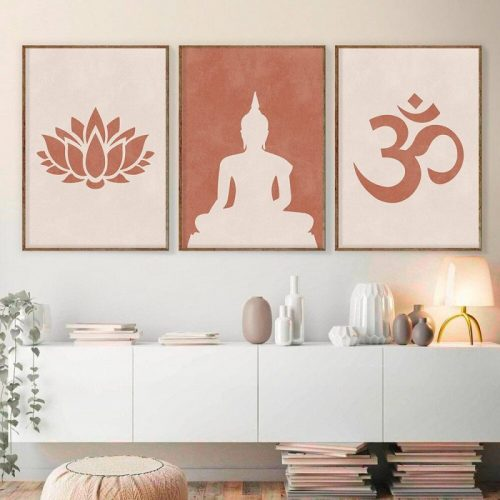 Tableau poster Bouddha