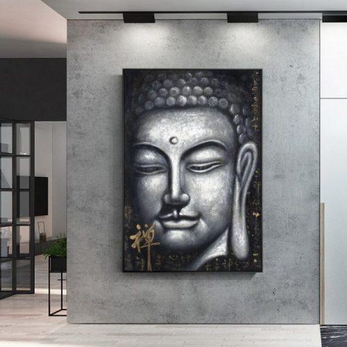Tableau de bouddhiste