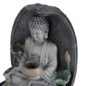 Fontaine temple bouddhiste