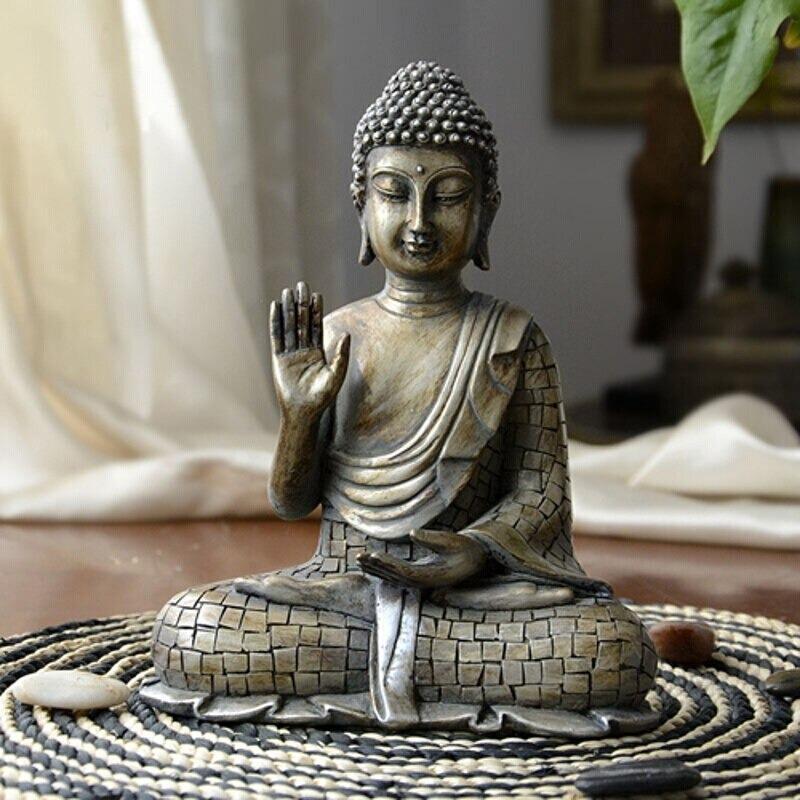 Statue Bouddha résine