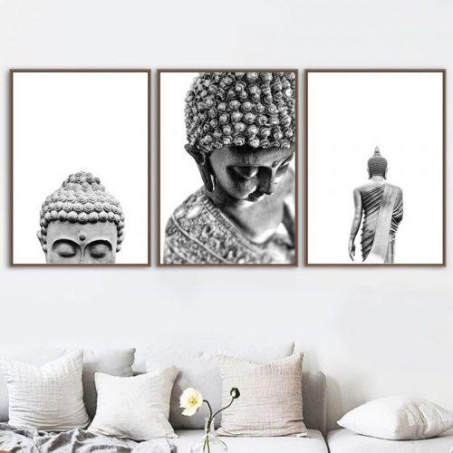 Tableau Bouddha design