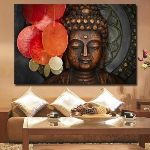 Tableau Bouddha original