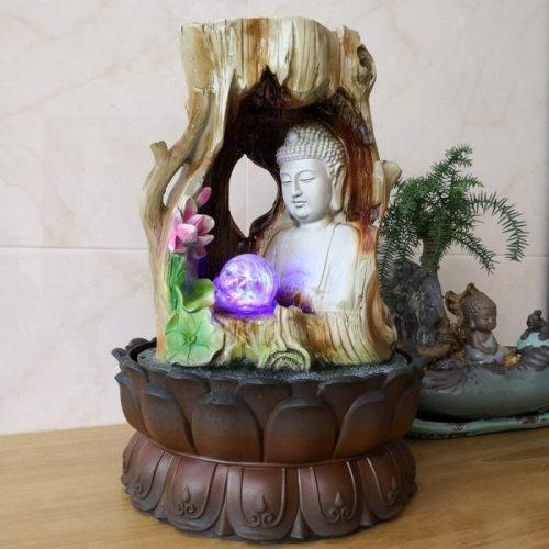 Fontaine à eau Bouddha intérieur