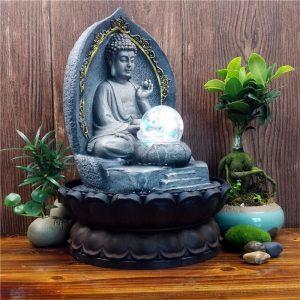 Fontaine statue Bouddha