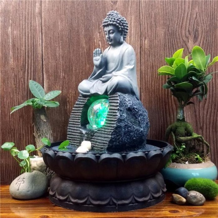 Fontaine de Bouddha