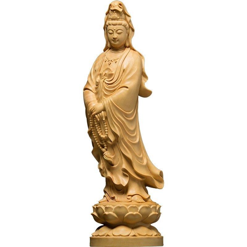 Statue déesse bouddhiste