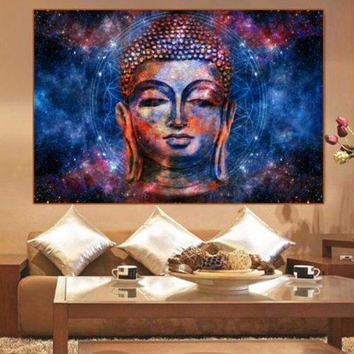 Tableau mandala Bouddha