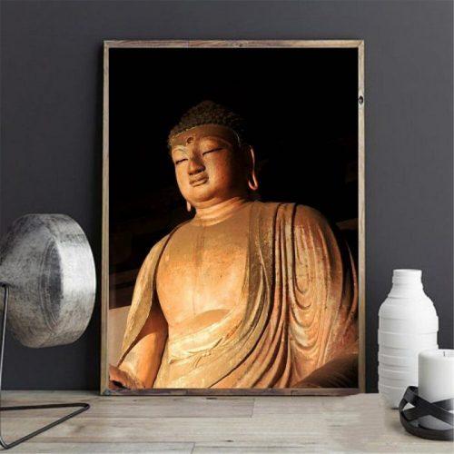 Tableau Bouddha Gautama