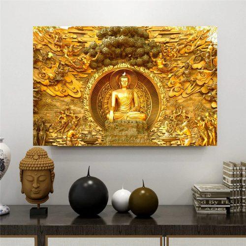Tableau Bouddha de Thaïlande