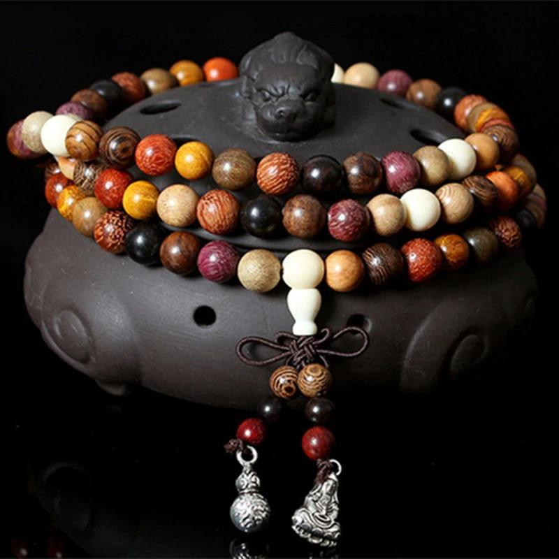 Collier bouddhiste Mala