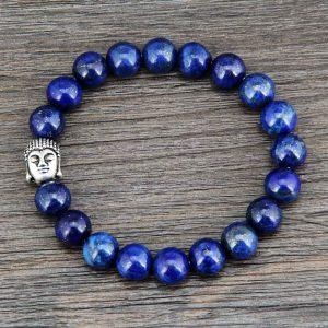 Bracelet bouddhiste Lapis-Lazuli