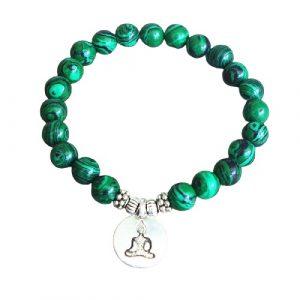 Bracelet bouddhiste vert