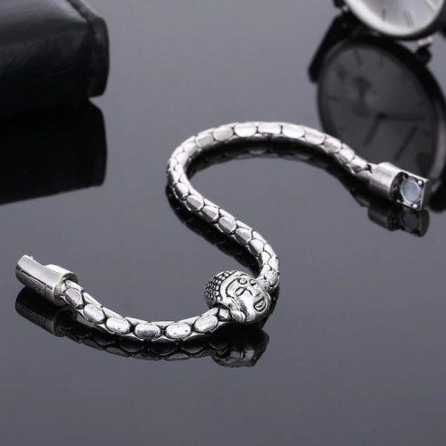 Bracelet snake Bouddha