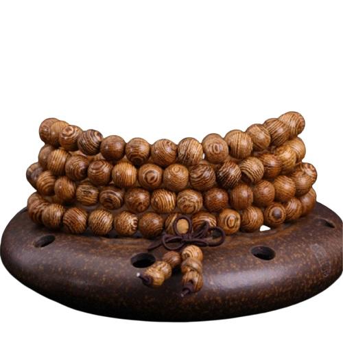 Collier bouddhiste bois