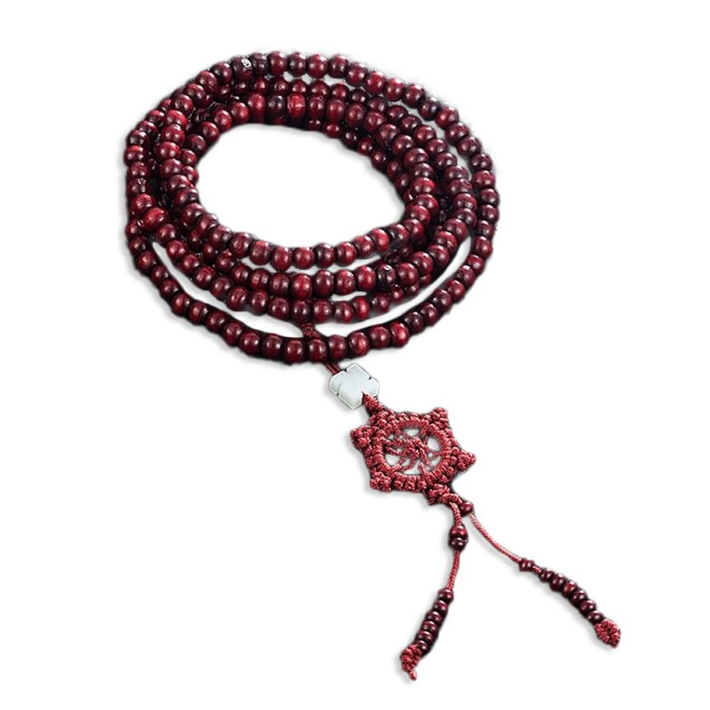 Collier Mala tibétain bouddhiste