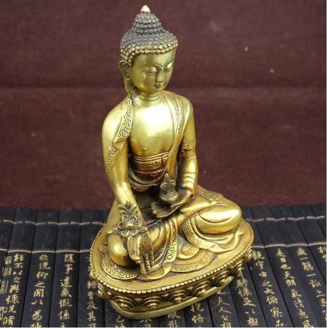 Statue Bouddha médecine