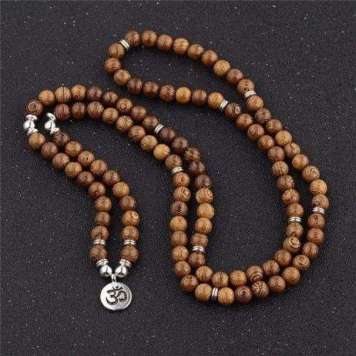 Collier bouddhiste 108 perles