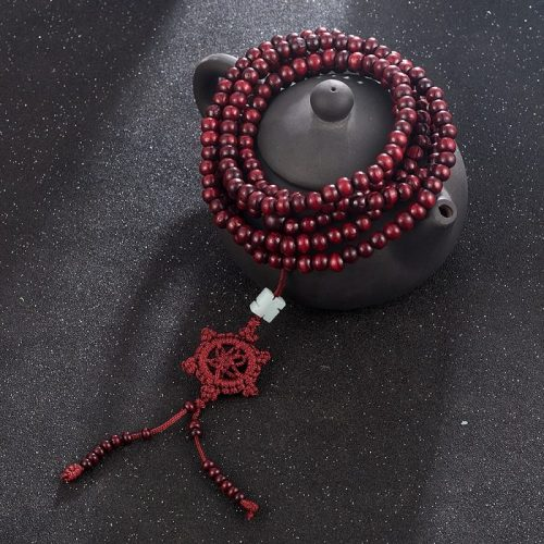 Collier Mala tibétain bouddhiste