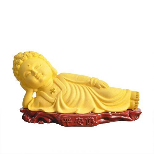Statue Bouddha allongé