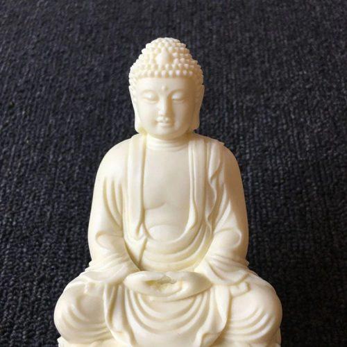Statue Bouddha ivoire